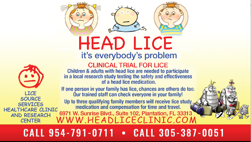 Head Lice Clinical Trial